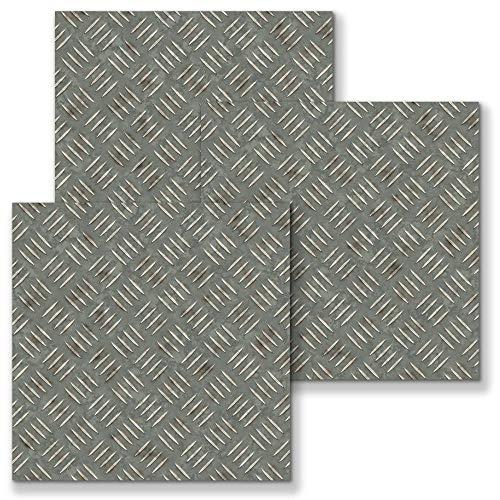 Pegatinas de azulejos para cocina y baño Mosaico gris20X20CM Impermeable autoadhesivo Borde decorativo Papel Pintado Pared Adhesivo 10pcs