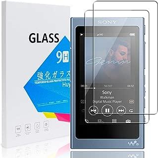【2枚セット】 Sony Walkman A40 専用 ガラスフィルム Huy NW-A40/NW-A47/NW-A45/NW-A46HN/NW-A45HN/NW-A30 強化ガラス 保護フィルム 業界最高硬度9H/高透過率/貼り付け簡単/気泡防止/飛散防止/スムースタッチ