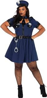 Flirty Cop Plus Size Adult Costume - Plus Size 1X/2X