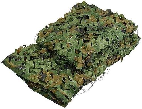 LXJJDGF Visière en Tissu, Toile De Soleil D'été Photographie Aérienne Nette Camouflage Toile De Montagne Verte Décoration Net Tissu D'ombre