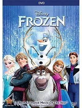 DVD Frozen Book