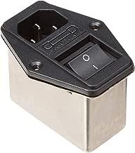 BLS CW2C-10A-T Solder Lug Terminals IEC 320 C14 Filter + Boat Switch + Fuse Holder