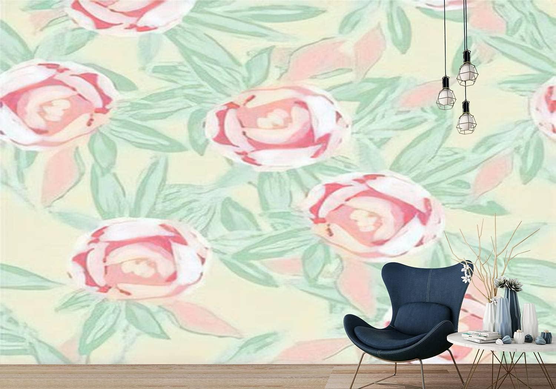 SIVRNMXOWTE PVC Wallpaper Purple Lotus Japan's largest assortment Pattern Marker R Max 68% OFF Seamless