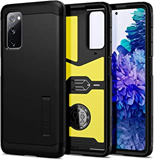 Spigen ACS02279 Tough Armor Designed for Samsung Galaxy S20 FE 5G Case (2020), Black