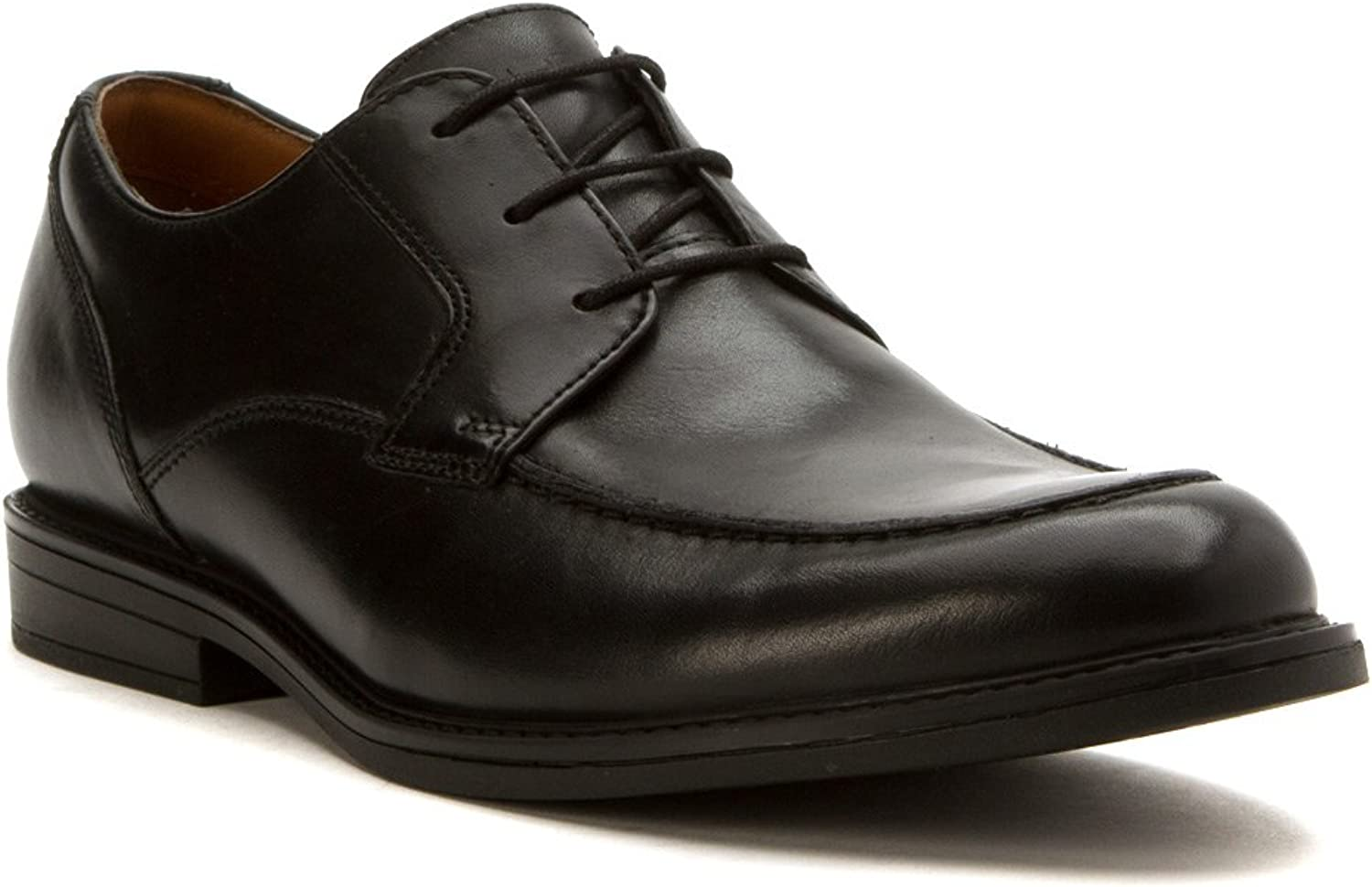 Clarks Men's Beckfield Apron Leather Lace-Up Dress shoes