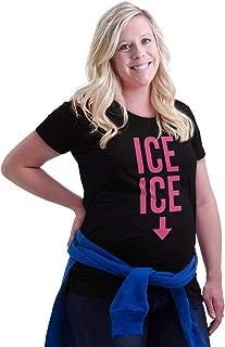Ice Baby Funny Hip Hop Pregnancy Maternity Maternity T Shirt