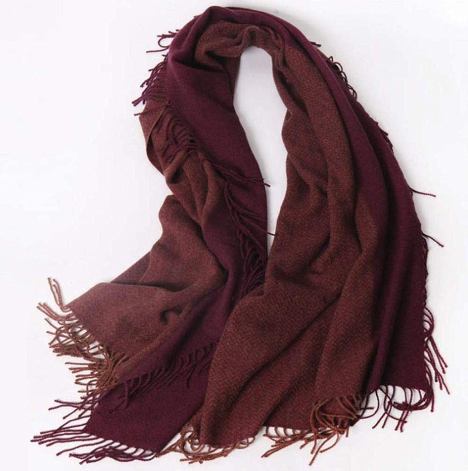 Cashmere Wool Shawl Wrap  Large Thick Soft Cashmere Scarf
