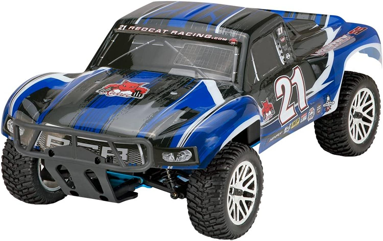 Redcat Racing Vortex SS Desert Nitro Truck, Black bluee, 1 10 Scale