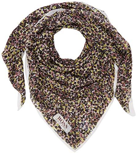 BOSS Damen Nameghan Schal, Mehrfarbig (Open Miscellaneous 967), One Size (Herstellergröße:ONESI)