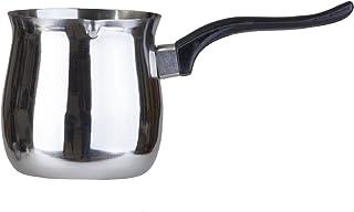 Pal Ed Calentador de Acero Inoxidable Turco (Finjan, Olla de Café) (900 ml)