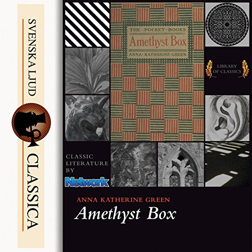 The Amethyst Box audiobook cover art