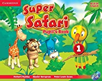 Super Safari Level 1 Pupil's Book with DVD-ROM (Super Minds)
