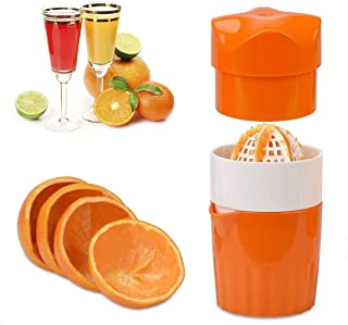 Sponsored Ad – Manual Hand Juicer, DELFINO Citrus Juicer Lemon Squeezer Press with Strainer and Container for Lemon Orange...