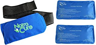 NatraCure Universal Cold Pack Ice Wrap – 2 Ice Packs w/ 1 Pouch - (5
