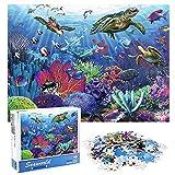 KidsPark Puzzle 1000 Pezzi Marino, Puzzle Adulti Jigsaw Puzzles per Adulti Adolescenti Bambini sopra 14 Anni Giochi Educativi Puzzle Marino 1000