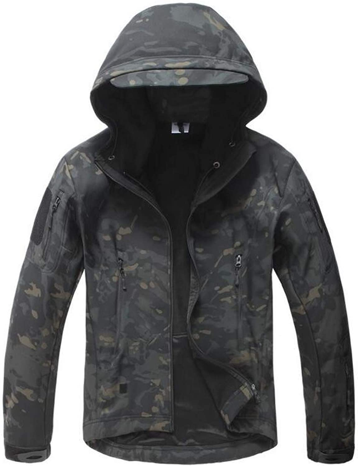 Fairyforest Camouflage Military Waterproof Windbreaker Raincoat Hunt Outerwear Tactical Jackets