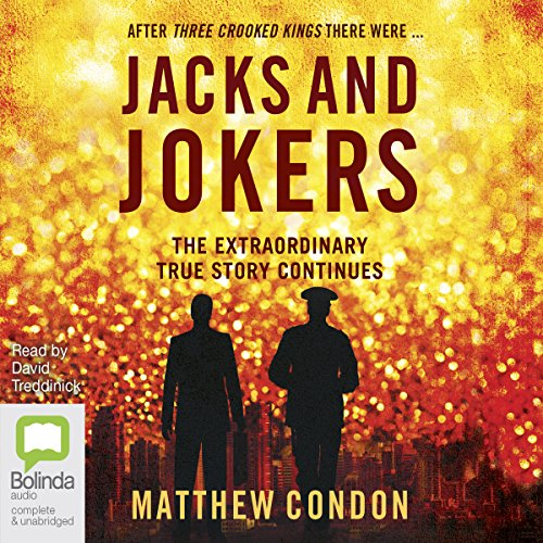 Jacks and Jokers audiobook cover art