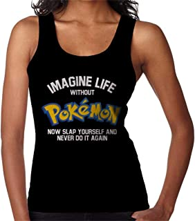 RHEYJQA Imagine Life Without Monster of The Pocket Now Slap Yourself Women's Vest
