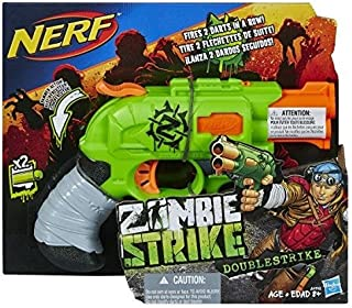 6c9fc46681d049 Nerf - A6562Eu40 - Jeu de Plein Air - Zombie Strike - Double Strike