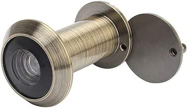 EdBerk74 Seguridad para el hogar 200 Grados 35-55mm Alcance de la puerta Mirilla Visor Mirilla Agujero Gran angular Mirador retr/áctil Seguridad infantil