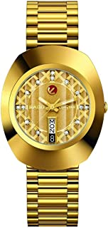 Rado Original Diastar Gold-Toned Analog Watch for Men R12413443