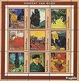 Prophila Collection Guinea-Bissau 1651-1659 Kleinbogen 2001 Picasso-Gemälde (Briefmarken für Sammler) Malerei