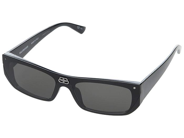 Balenciaga  BB0080S (Black) Fashion Sunglasses