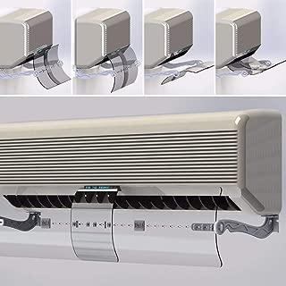 موجه تدفق هواء مكيف السبلت القابل للتعديل من فيكتور , بدون تثقيب للجدار , صناعة تركية