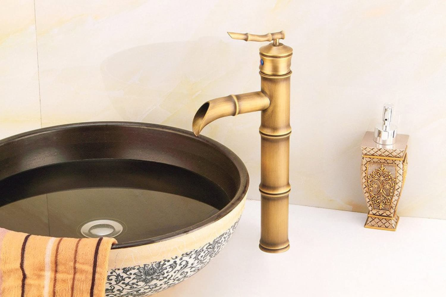 Hlluya Professional Sink Mixer Tap Kitchen Faucet Retro Single-COLD WATER FAUCET