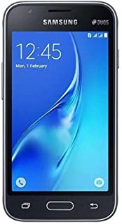 Samsung Galaxy J1 Mini 8GB J106H/DS Dual Sim Unlocked Phone - Retail Packaging- Black