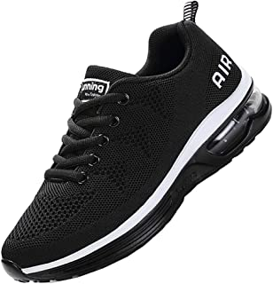 JARLIF Mens Lightweight Athletic Running Shoes Breathable Sport Air Fitness Gym Jogging Sneakers US6.5