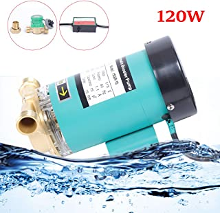 90W / 120W 110V Pressure Pump Electric Automatic Household Shower Washing Hot Water Booster Pump 3460r/min USA STOCK (120W)