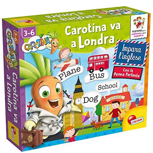 Lisciani Giochi Penna Parlante Carotina Va a Londra Gioco Educativo Prescolari, Multicolore, 85606