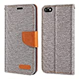 Huawei Honor 4X Case, Oxford Leather Wallet Case with Soft