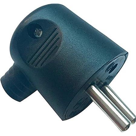 91476 5 pièces schuko connecteur 16a 250v caoutchouc mise en œuvre protection contact ip44