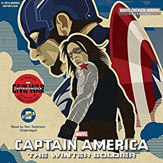 Phase Two: Marvel's Captain America: The Winter Soldier cover art