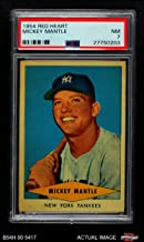 1954 Red Heart Mickey Mantle New York Yankees (Baseball Card) PSA 7 - NM Yankees
