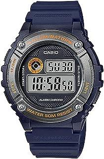 Casio W-216H-2B For Men-Digital, Casual Watch