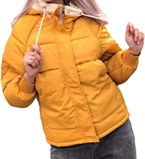 Howely Womens Hooded Warm Zipper Thickened Winter Casual Leisure Coat Jacket