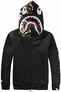 nuovo stile d9010 68f11 Amazon.it: Lo squalo - Felpe con cappuccio / Felpe ...