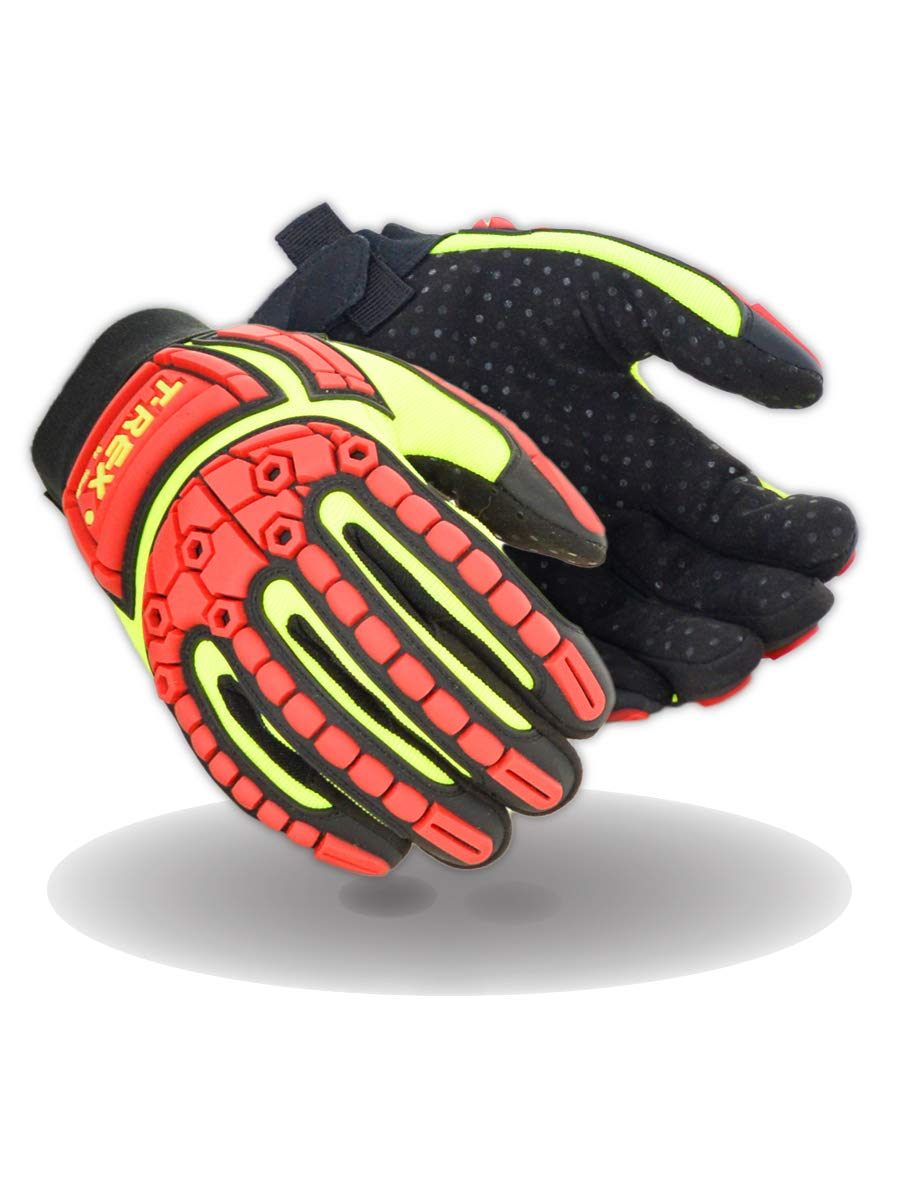 Magid Glove Safety gift T-REX TRX641 Slim-Fit s Style Mechanic Detroit Mall Impa