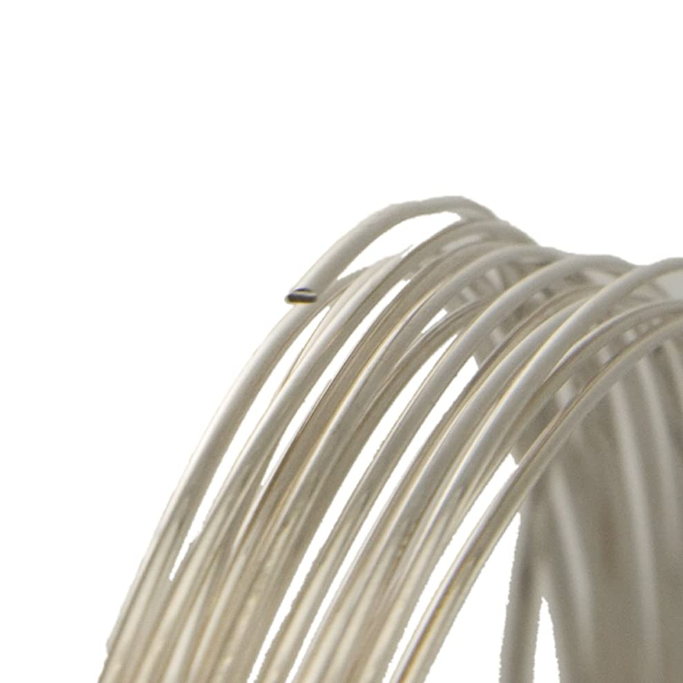14 Gauge Half Round Dead Soft .925 Sterling Silver Wire - 5FT gmmkcxyyt7531