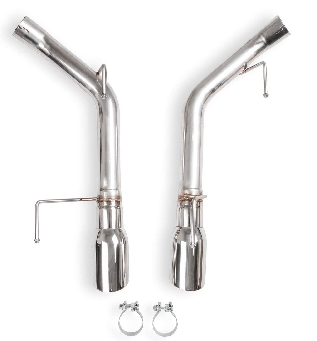 Flowtech 2005-10 Mustang Gt Non-Muffled Axle-Back 格安SALEスタート Exhaust 無料サンプルOK