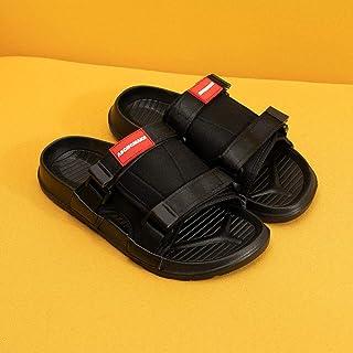 ZUOX Tongs Mixte Adulte Multicolore,Portez Un Tongs de Plage à l'extérieur en été, des Sandales et des Pantoufles à Fond é...