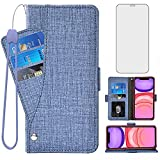 Asuwish Compatible with iPhone 12 Mini 5.4 Wallet Case