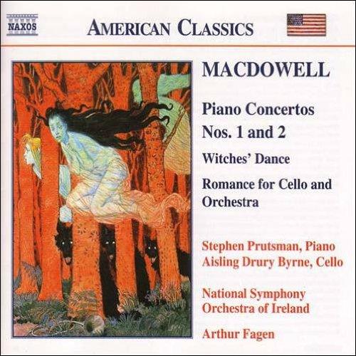 マクダウェル:ピアノ協奏曲 第1番, 第2番/魔女の踊り - ブルッツマン, マクダウェル, アーサー・フェイゲン, アイルランド国立交響楽団, スティーヴン・プルッツマン, アイリング・ドルリー・バーン