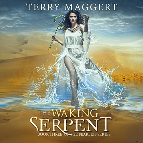 The Waking Serpent audiobook cover art