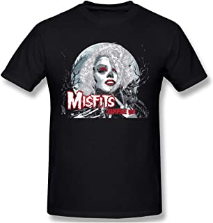 Cool Official Misfits Records Vampire Men's Short-Sleeved Standard T-Shirt Black