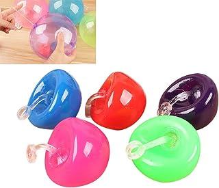 YEKKU Mini burbuja globo de juguete, bola de la tensión inflación Reliever juguetes descompresión del juguete sensorial Fi...