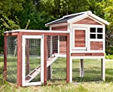 Wooden Rabbit/Guinea Pig Hutch Pet House Bunny Hutch House Chicken Coops Cages Rabbit Cage PURLOVE®